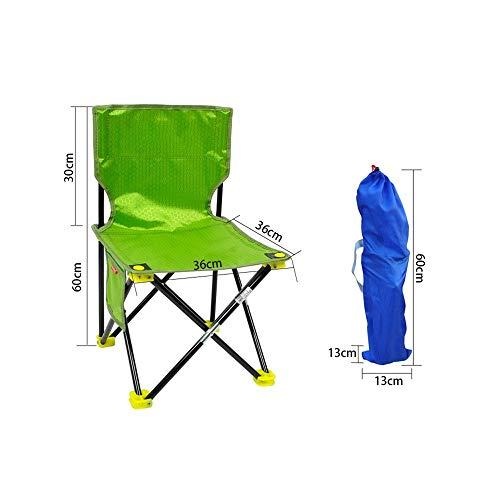 LXJYMX Poltrona Creativa Sedie Pieghevoli per Esterni, Sedie per Il Tempo Libero, Sedie da Pesca, Sedie da Spiaggia da Campeggio, Sedie per dipingere, Sedie da Sgabello @ (Colore : 4#)
