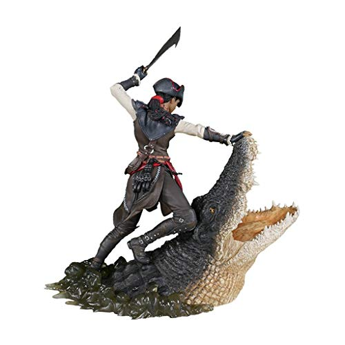 YYBB Assassin's Creed Liberation: The Assassin of New Orleans Aveline PVC Statue - High 27cm from Games Gifts Collection Home Decoration Masterpiece Figure Toys image