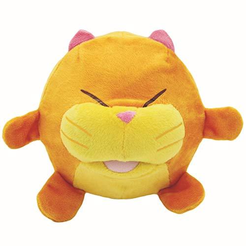 Splash Toys 30928 - BONDi BONG! Knuffeldier kat het pluche katje springt als een bloem en maakt verschillende geluiden, ca. 17 cm, vanaf 0+ maanden