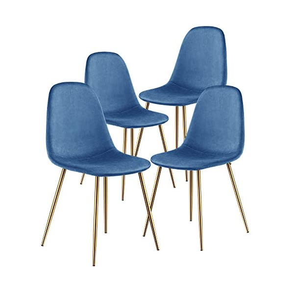 Kealive Dining Chair for Kitchen Dining Room Set of 4 Mid Century Modern Side Chairs...