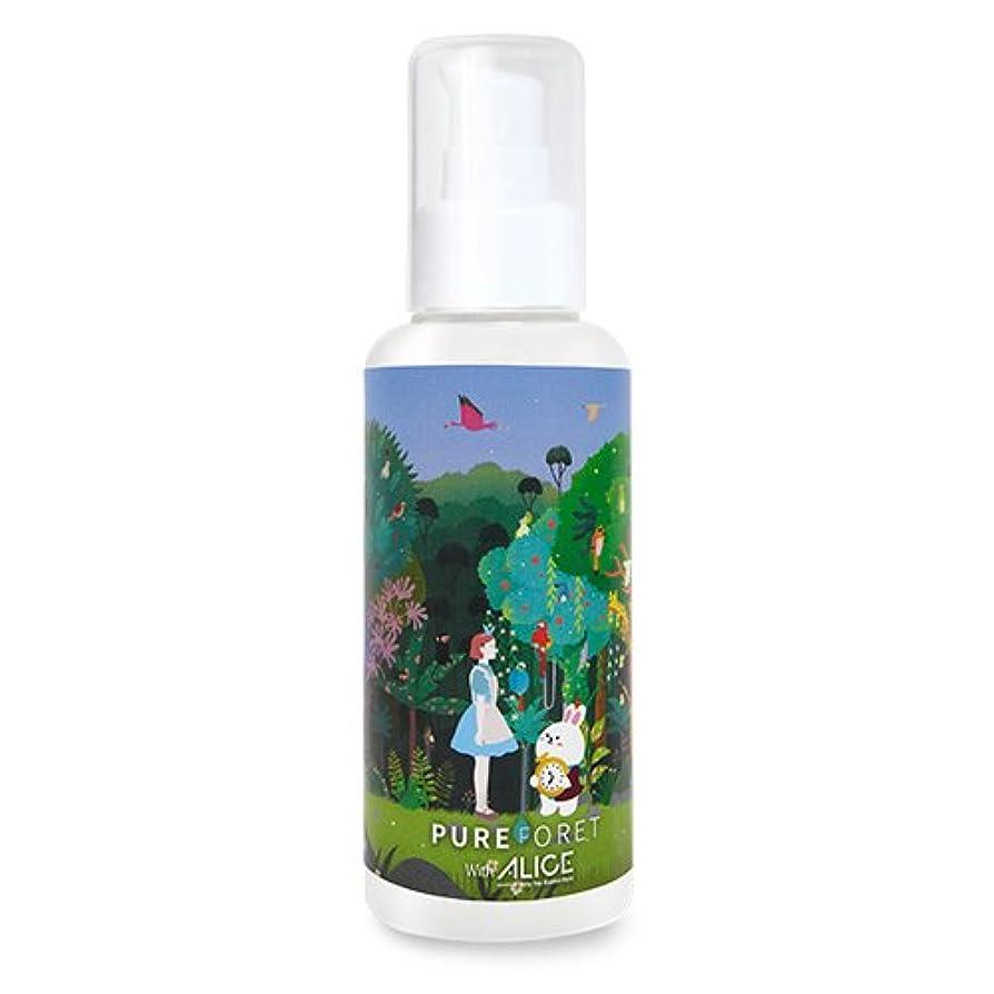 クローゼットルアークリエイティブ韓国産 Pureforet x Alice スキンリペア ハイドレーティング スキン 化粧水 (150ml)