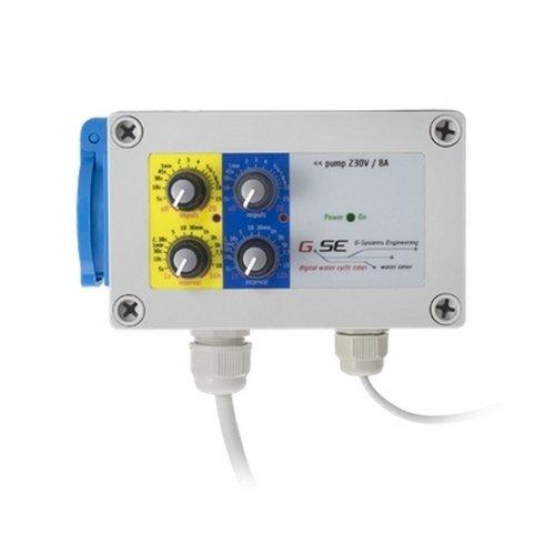 Minuterie / Programmateur d'irrigation GSE Water Timer IR 8A (GSE-8)