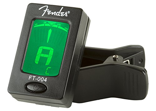 3. Fender FT-0004 Clip-On Chromatic Tuner