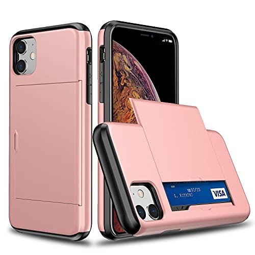 Oihxse SGP Ranura Tarjeta Funda Compatible con Samsung Galaxy S7 Edge/S11E, con Diapositiva Tapa Oculto Ranura para Tarjeta, Dura PC y TPU Antichoque Double Protection Case