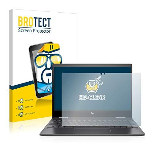 BROTECT Schutzfolie kompatibel mit HP Envy x360 13-ar0104ng klare Bildschirmschutz-Folie