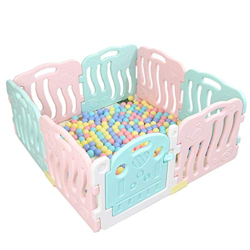 Best Buy! CHULQY Baby Fence Indoor Children's Fence Detachable Baby Game Gate Bar Baby Crawling Todd...