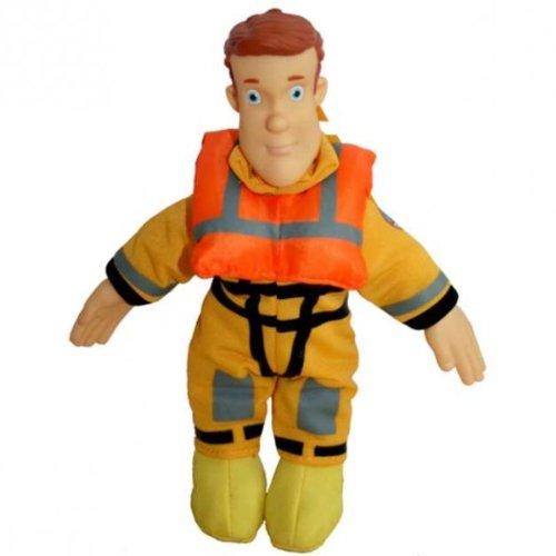 Feuerwehrmann Sam - Beanie Puppe Sam Bootsmann 18cm