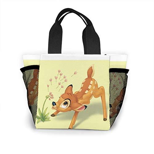 Lunch-Tasche für Damen, Handtasche, Lunch-Tasche für Arbeit, Picknick oder Reisen – Bambi