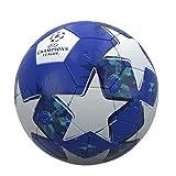 UEFA Champions League - Balón de fútbol (talla 5), color azul y blanco