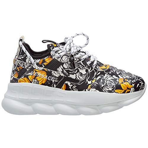 Versace Sneakers Chain Reaction Uomo Bianco 43 EU