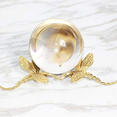 MQW All Copper Crystal Ball Ornaments Decorations for Creative Home...