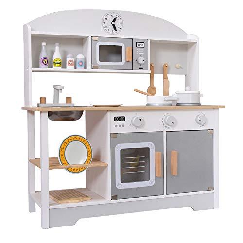 household items Juguetes de Cocina de Madera, Que simulan Utensilios de Cocina, Cocina para niños y Juguetes de Experiencia de Juego, adecuados para niños Mayores de 3 años.