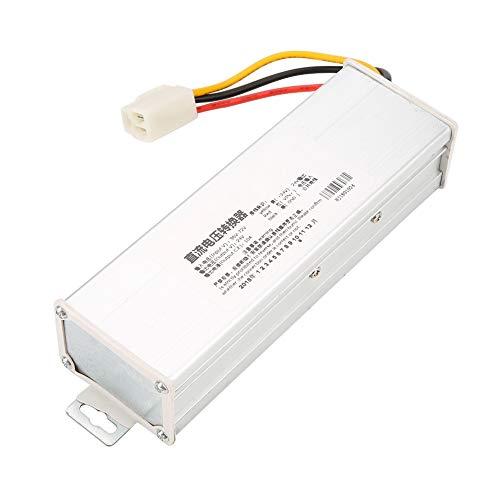 Convertidor DC, Jarchii Módulo reductor de potencia, CC 36V/48V/60V/72V a 24V 10A...