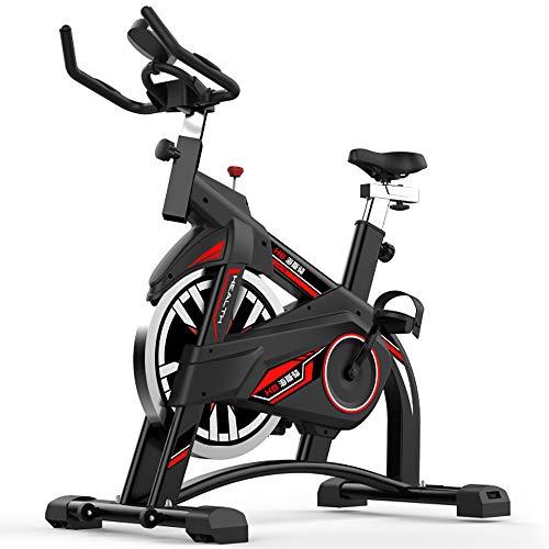 FGONG Vélo d'intérieur Professionnel avec contrôle de l'application pour Smartphone, Ceinture à impulsions Compatible Vélo d'exercice Vertical Cycles de Studio intérieur