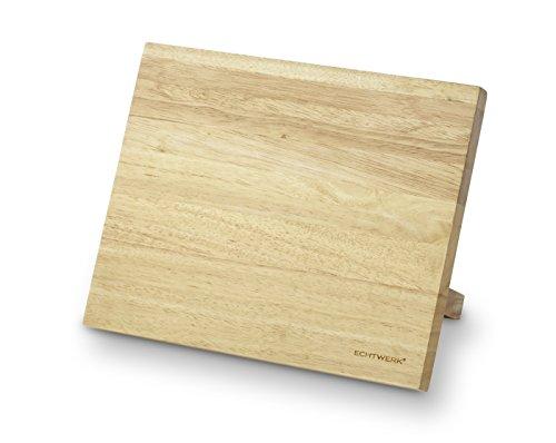 ECHTWERK Magnet-Messerblock, Holz, 26 x 12,5 x 21 cm