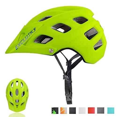 Exclusky Mountain Bike Helmet MTB Bicycle Cycling...