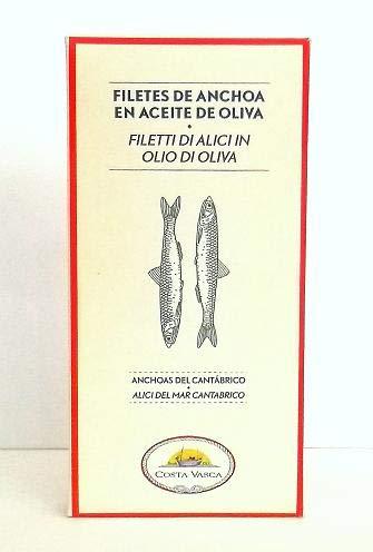 Filetti di Alici Mar Cantabrico in Olio di Oliva COSTA VASCA - 50g - [16 unitá]