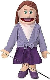 "25"" Sarah, Peach Mom / Teacher, Full Body, Ventriloquist Style Puppet"