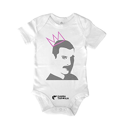 GAMBA TARONJA Freddie - Bebe - Freddie Mercury - Queen - Multicolore - 12-18 Mois