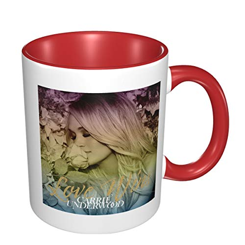 Carrie Underwood Love Wins Vintage Printing Design 11 Ounce Ceramic Coffee Mugs Restaurant Mug, Suitable for Coffee Mugs, Tea Mugs, Cereal Mugs