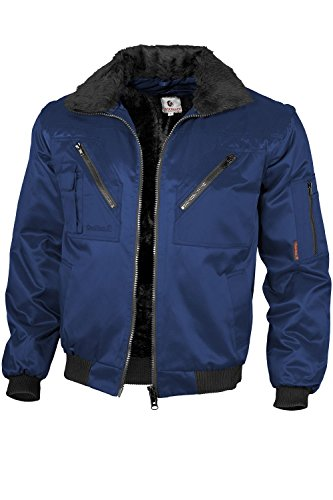Qualitex - Pilotenjacke 4 in 1, Marine , 3XL