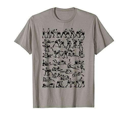Vintage Wrestling freestyle, Greco-Roman wrestler gift T-Shirt