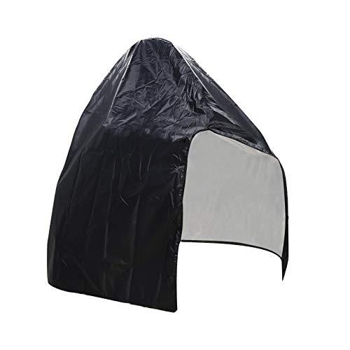 Yagosodee Silla Colgante Funda Protectora Silla Exterior Protector de Polvo Accesorio para Muebles Negro