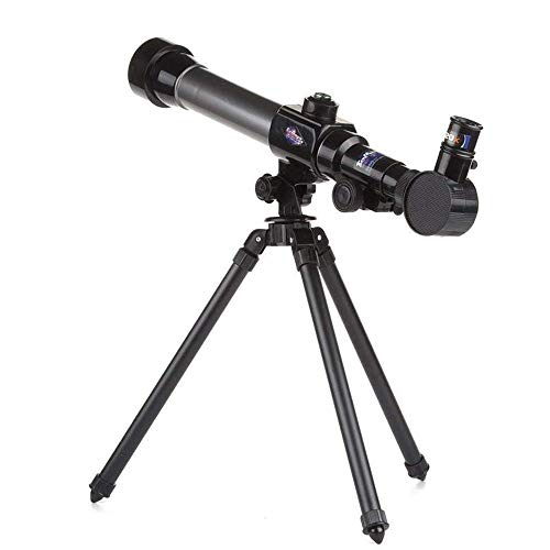 WNN-URG Teleskop - Refraktor - voll vergütete Glasoptik - Einstellbare Höhe Stativ for Kinder Anfänger URG