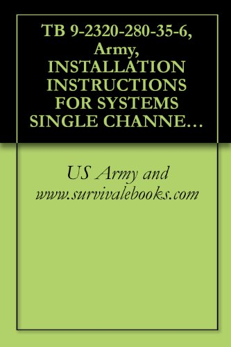 TB 9-2320-280-35-6, Army, INSTALLATION INSTRUCTIONS FOR SYSTEMS SINGLE CHANNEL GROUND AND AIRBORNE RADIO SYSTEM (SINCGARS) AN/VRC-88F, AN/VRC-89F, AN/VRC-90F, ... ARMORED, 1-1/4 TON, 4X4, M1025 (2320-