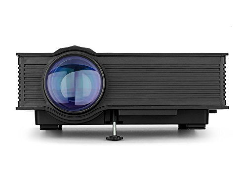 Generico UNIC UC46 Portable Projector - LCD + LED, 800x480, 1200 Lumens, Miracast, DLNA, Airplay, SD Card, HDMI