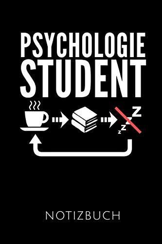 PSYCHOLOGIESTUDENT NOTIZBUCH: Geschenkidee für Psychologiestudenten und Psychologen | Notizbuch mit 110 linierten Seiten | Format 6x9 DIN A5 | Soft ... Autorennamen für mehr Designs zu diesem Thema