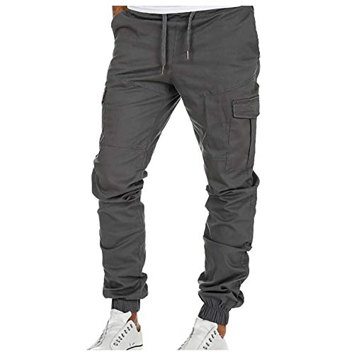 2021 Nuevo Pantalones para Hombre Casuales Moda trabajo pantalones Pants Jogging Pantalon...