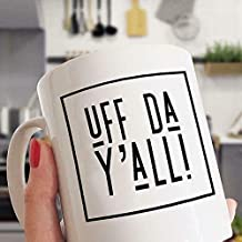 Uff Da Y'all N0rway Slang Norwe_gian Mug - White Mug (11 Oz)