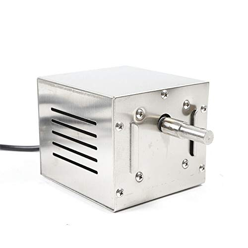 Grill Roaster Elektromotor - Edelstahlmotor für Grillspieß, Rotisserie und mehr 2.5r / min 25W 60KG