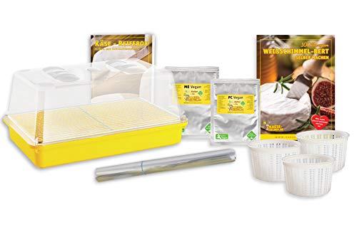 Käse selber Machen - Veganen Cashew Weißschimmel-Bert selber Machen Set