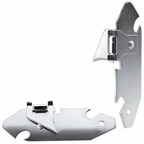 IBILI 785500 Ouvre Boites Alpiniste 2 Pc, INOX, Argent, 9 x 1 x 3 cm