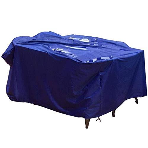 Fundas para Muebles de jardín Impermeables 200x100x100cm, Funda para Muebles de Patio, toldo Exterior de Lona Duradera Impermeable a Prueba de Viento a Prueba de Polvo, Azul, 33 tamaños, personalizab