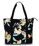 Bench Einkaufstasche Shopper Tasche Umhängetasche Strandtasche Innenfach + Außenfach mit Reißverschluss Damen Schulter Tasche präsentiert von RabamtaGO (Magnolie)