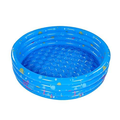 Verdickte Runde, Vier-Schicht-Spielzeug Pool Kinderbadeverschleißfeste Marine-Ball Pool Planschbecken Durchmesser: 130 / 150cm (Größe: 150 cm) WTZ012 (Size : 150cm)
