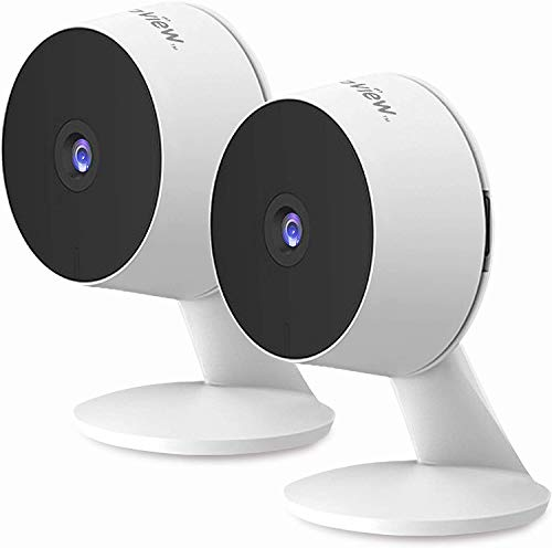 Laview Home Security Camera HD 1080P(2 Pack) AI Human Detection,Include 2 SD Cards,32GB Two-Way...