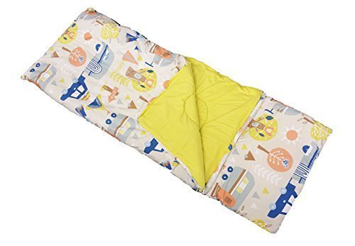 Simple Solutions Child's Sleeping Bag & Pillow - Let's Camp by Grove