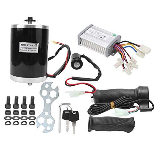 Alomejor Kit de Controlador de Bicicleta eléctrica 48V 1000W Controlador de Motor Empuñadura del Acelerador para Bicicleta eléctrica Scooter de Bicicleta eléctrica