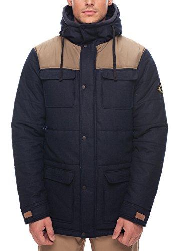 686Herren 's Woolly Puffer Jacke, Herren, Navy