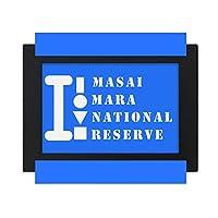 マサイマラ デスクトップフォトフレーム画像ブラックは、芸術絵画7 x 9インチ