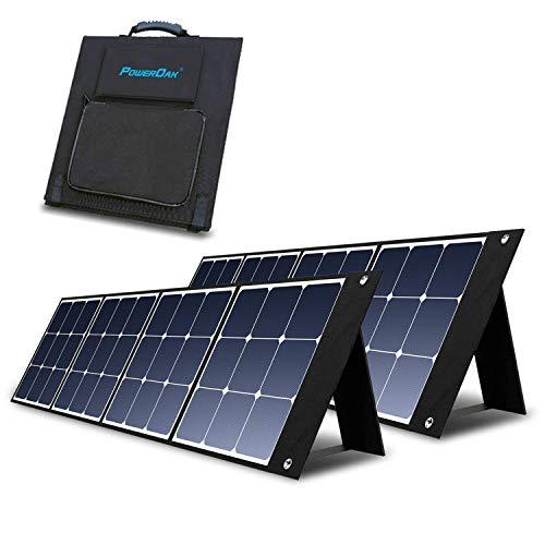 PowerOak Bluetti SP120 Panel Solar 2 Piezas de 120W 24V Módulo Solar...