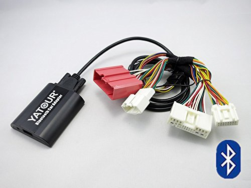 Mazda-Bluetooth-Adapter, digitaler Autoradio-AUX-Adapter, Freisprecheinrichtung, mit USB-Ladekabel und 3,5 mm Audio-Musik-Eingang, für Mazda 3 5 6 CX-5 CX-7 RX-8 2009-2012 (BTA-MAZ2)