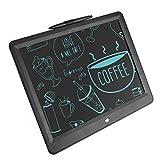 Yoidesu Tableta de Escritura LCD portátil, Tableta de Dibujo de Papel de Escritura a Mano de 15 Pulgadas para niños, Tablero Ultrafino con bolígrafo para el hogar, la Escuela, la Oficina