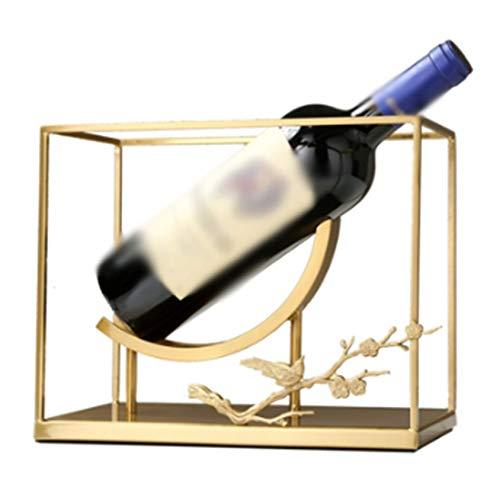 ZXCV Botellas De Vino Mesa Pequeña Centro De Mesa Soporte De Almacenamiento De Vino para Decoración del Hogar, Bar, Bodega, Sótano, Gabinete, Despensa