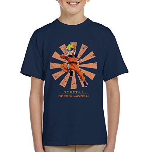 Naruto Uzumaki Retro Japanese Kid's T-Shirt