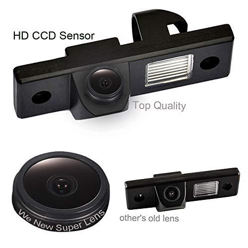 Dynavsal 1280 * 720 Pixel 1000TV Lines Starlight Super Pro HD Objectif Imperméable Vision Nocturne, Caméra de Recul pour Opel Astra Corsa Zafira Vectra Insignia Haydo Lovns Antara/Vivaro